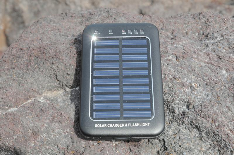 caricabatterie solari portatili