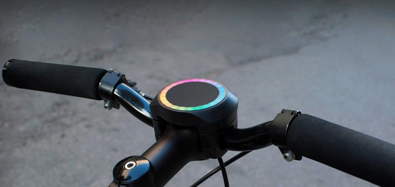 bicicletta intelligente con smarthalo
