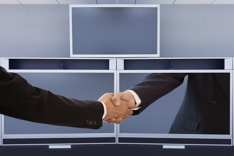 l'evoluzione della videoconferenza in telepresenza cambia il modo di comunicare sul lavoro
